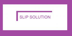 slip solution